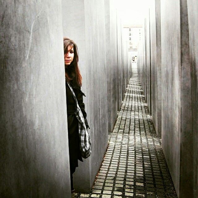 Holocaust Mahnmal-Berlin #travel #berlin