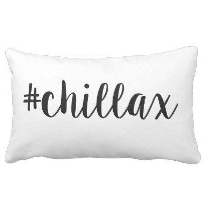 #chillax cushion minimalist cushion - Xmas ChristmasEve Christmas Eve Christmas merry xmas family kids gifts holidays Santa