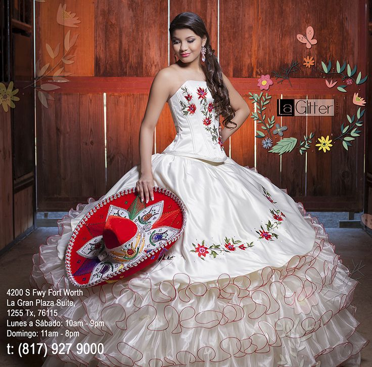 17 Best ideas about Mexican Quinceanera Dresses on Pinterest   Mexican wedding dresses, Mexican ...