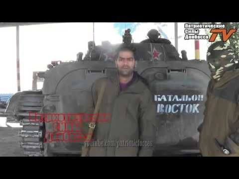 War in Ukraine Spanish volunteers in the army of Donbass