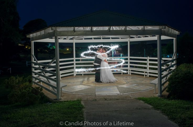 Candid Photos of a Lifetime - The lighting around this couple in the gazebo was only generated by the light of the sparkler...  The Common, Oberon  www.candidphotosofalifetime.com.au