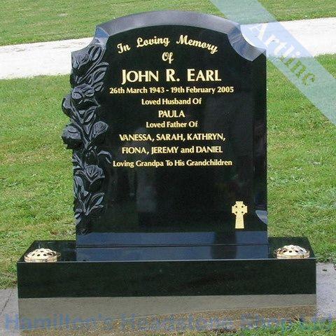 Headstone Cemetery Pinterest
