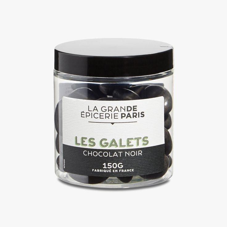 Amandes torréfiées enrobées de chocolat noir et de sucre - La Grande Epicerie de Paris - Find this product on Bon Marché website - La Grande Epicerie de Paris