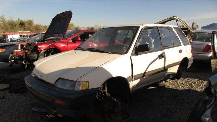 ICYMI: Junkyard Gem: 1989 Honda Civic Wagon
