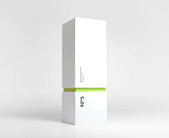 Modern Packaging Design A minimalistic and modern package design by Cloud Inc for 90 Degrees South, a traditional absinthe. source: lovelypackage.com