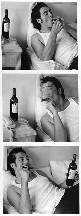 Javier Bardem - quite possibly the only man I'd allow to smoke in bed :)