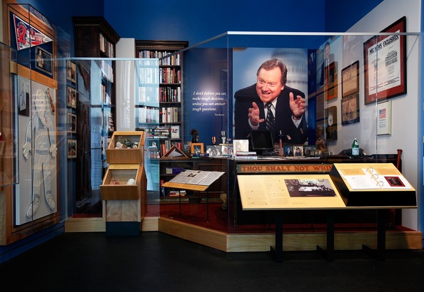 Newseum Recreates Tim Russert's Office As Part Of New Exhibition