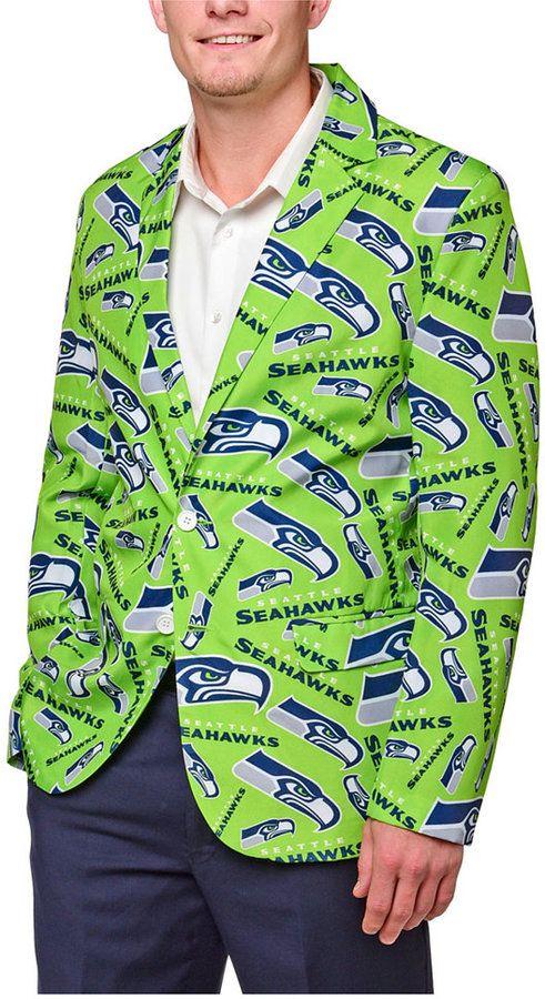 Forever Collectibles Men's Seattle Seahawks Fan Suit Jacket