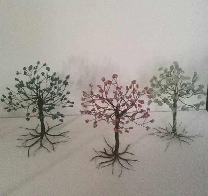 Handmade Miniature Trees 2