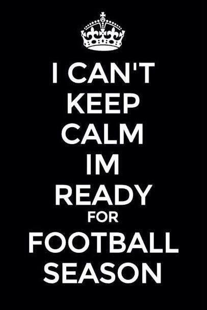 Im ready for football!! Dallas Cowboys!