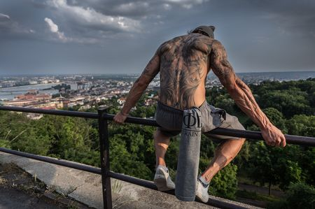 The guardian of the city taking a rest Photo by Zsolt Repasy — National Geographic Your Shot