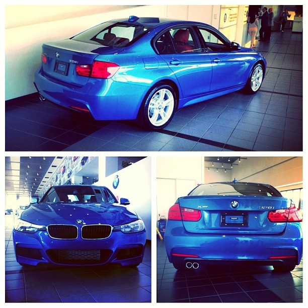The Superman of BMWs 2013 BMW 328i xDrive Estoril Blue exterior