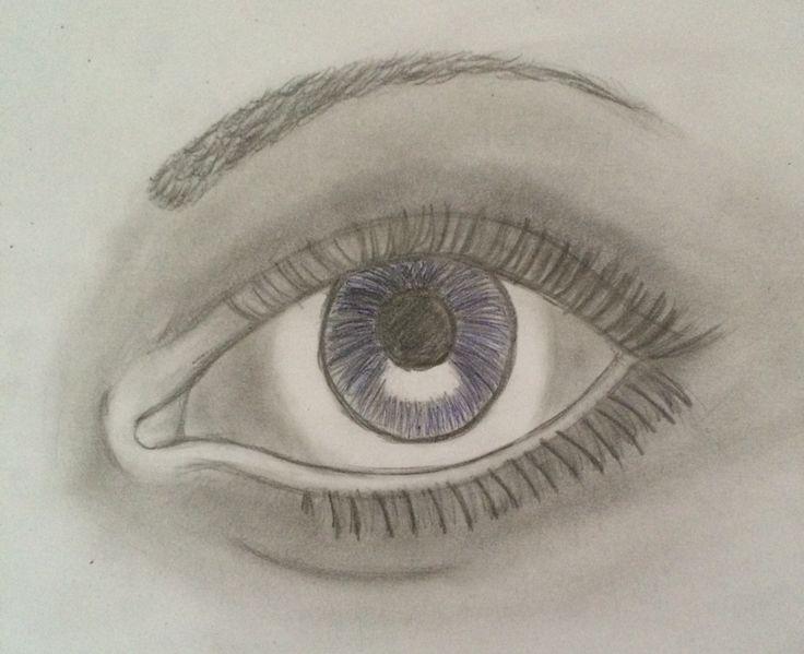 Finished eye