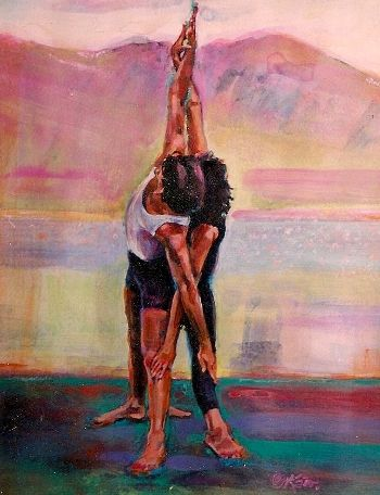 498 best yoga inspired art images on pinterest  yoga art