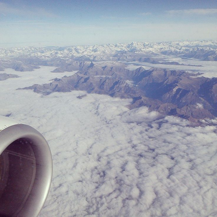 Views from the window seat are the best!
