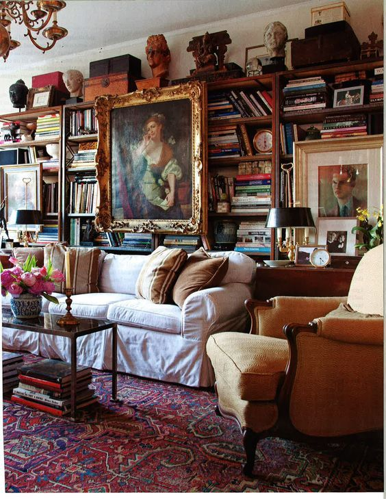 English Study Room: 593 Best Images About Home Libraries And Reading Nooks On