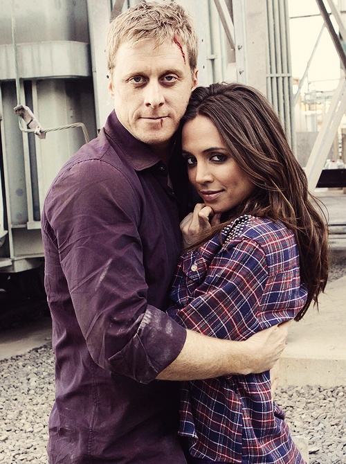 Eliza Dushku & Alan Tudyk , Dollhouse...since I haven't seen Dollhouse yet this just looks like Wash and Faith to me! ;)