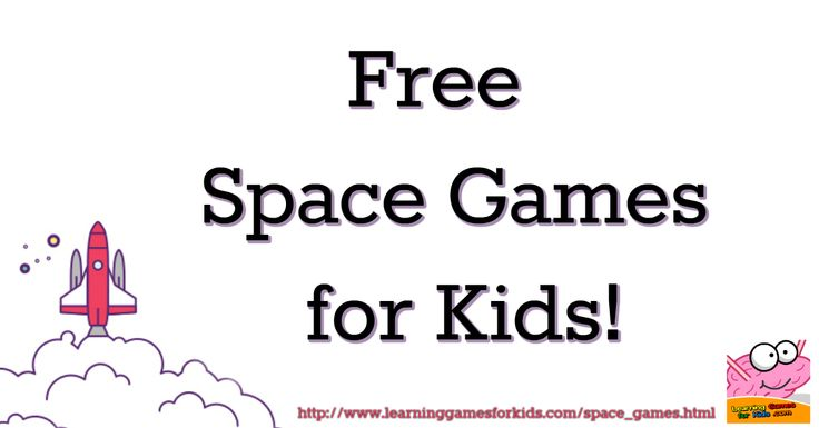1000+ Ideas About Space Games For Kids On Pinterest