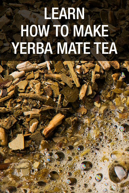 """Learn about the different ways how to make Yerba Mate, the traditional South American brew that is considered the """"Drink of the Gods"""". #yerbamate #tea #stressrelief http://www.unstressyourself.com/how-to-make-yerba-mate-tea/"""