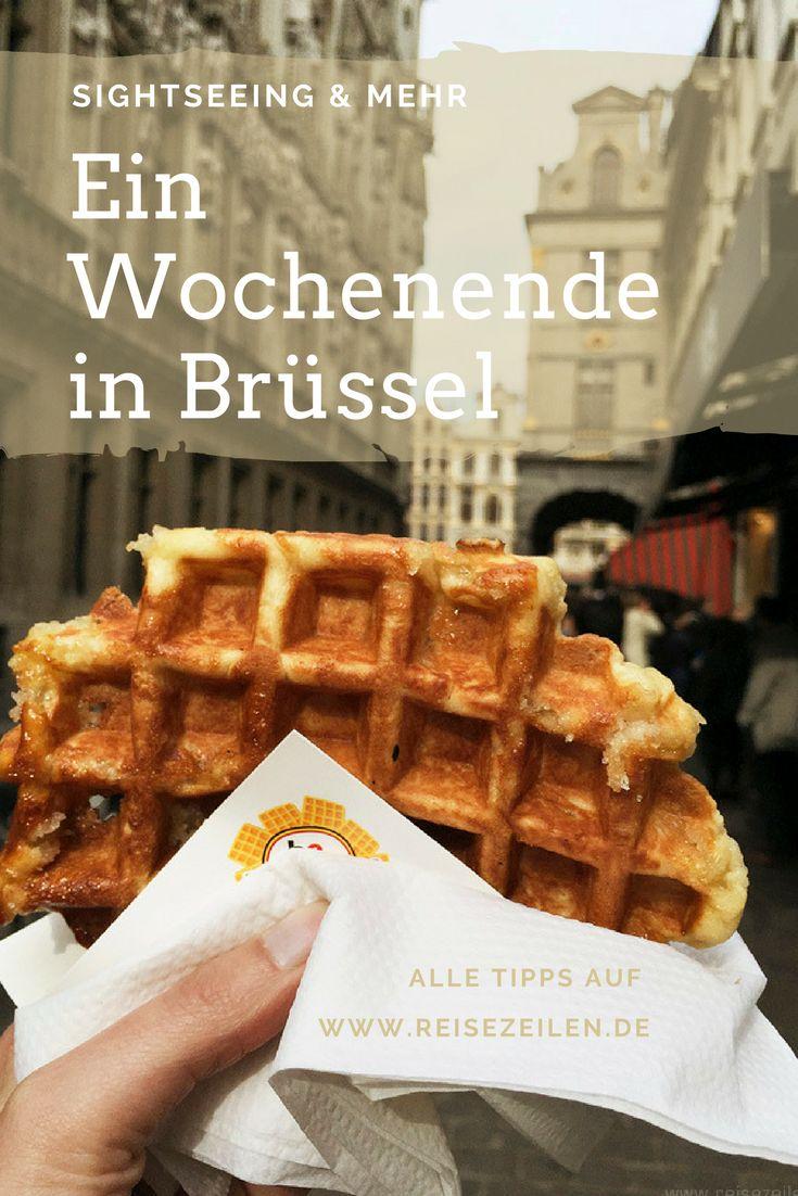 Ich verrate dir, was du in Brüssel an einem Wochenende machen kannst: meine Tipps zu Sehenswürdigkeiten, leckeren Waffen und coolen Restaurants.