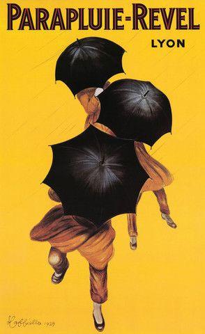 Parapluie Revel by Leonetto Cappiello Vintage Art Print | Pop Motif