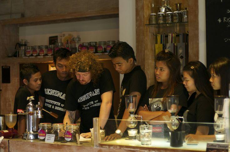 Seniman coffee Ubud, Bali