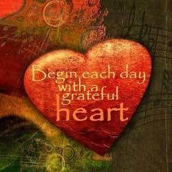 dankbaar hart Liefde zonder vorm, door Carolien