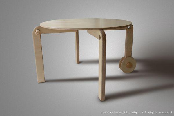 Table for child by Jakub Blazejowski.