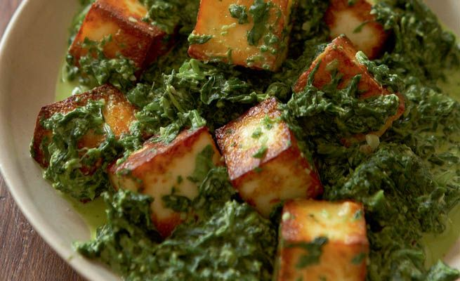 love me some saag paneer! I'll have to see if I can actually make it now...