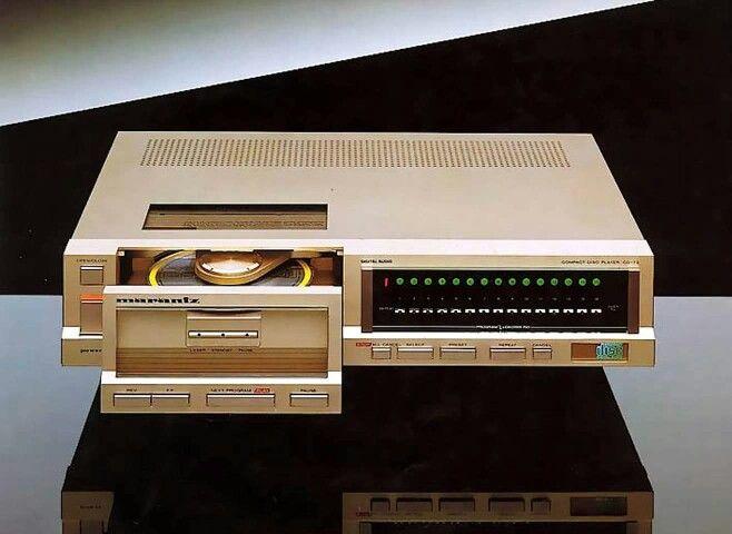 Vintage Marantz Cd73 Vintage Cd Player Vintage Audio