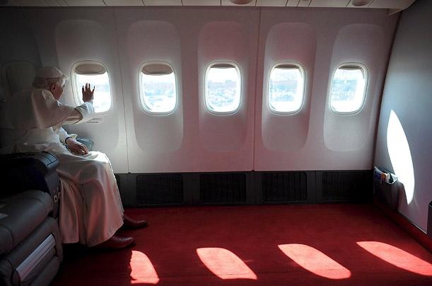 W czasie lotu do Ameryki