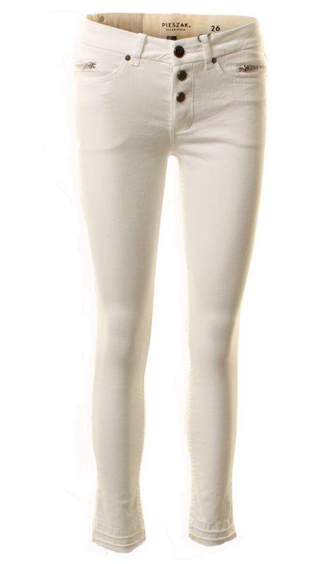 Nye hvide jeans fra Pieszak
