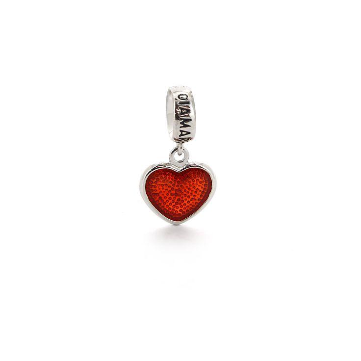 » Подвеска-перлина «Влюбленное сердце»