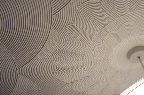 декоративная штукатурка отделка потолка