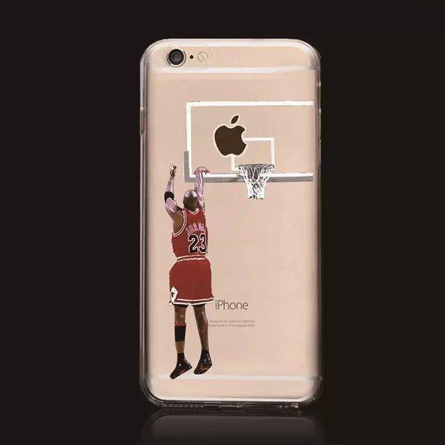 New Kobe Bryant Stephen Curry Michael Jordan LeBron James Basketball Hard Plastic Back Cover Case for iPhone 6 Plus 6s Plus