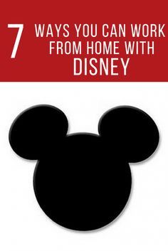 Are you a lover of all things Disney? Find out how to work for Disney from home with these 7 Disney Work From Home Jobs. #wahm #workathome #disney