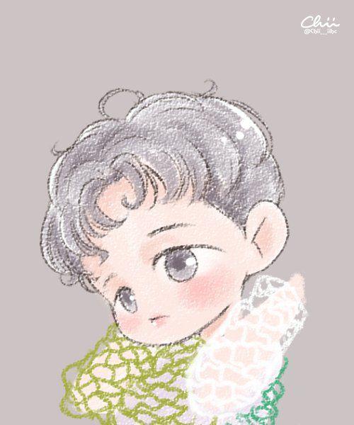 chii en Twitter: •160606 #Fanart #Baekhyun #EXO #LuckyOne Cr: Chii___iihc
