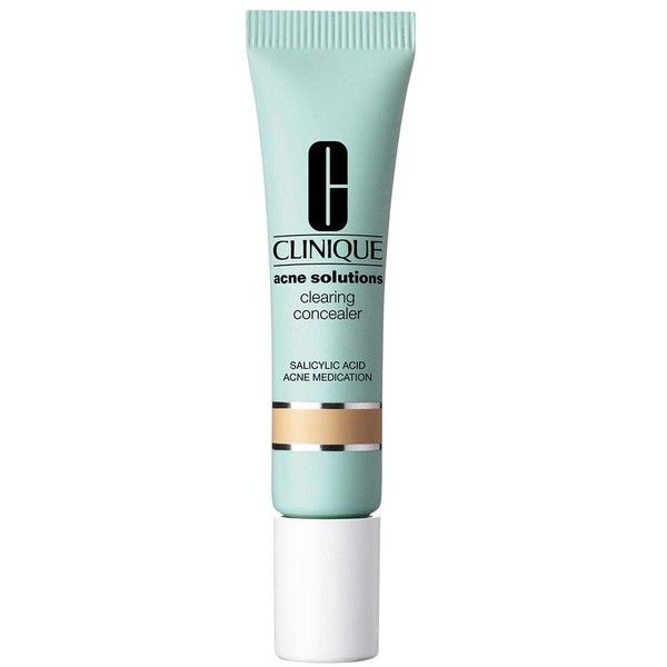 Clinique Acne Solutions Clearing Concealer found on Polyvore featuring beauty products, makeup, face makeup, concealer, clinique concealer and clinique