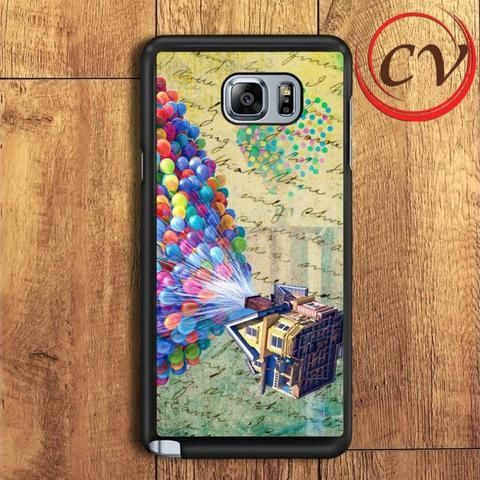 Up Baloon House Samsung Galaxy Note 5 Case