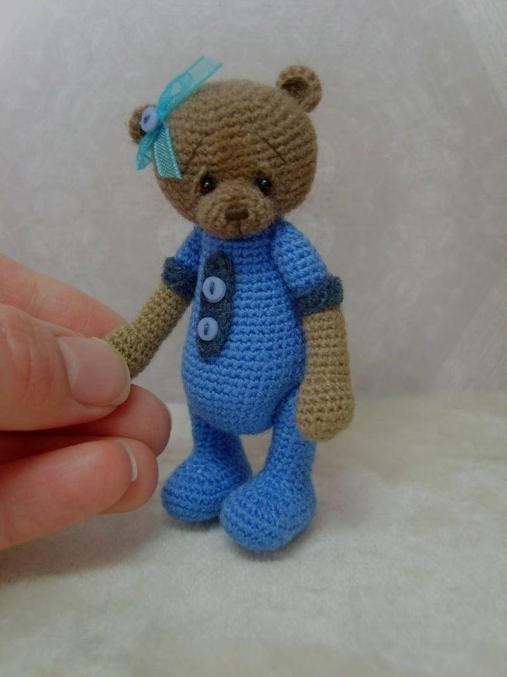 The 110 best ideas about thread bear on Pinterest Bear ...