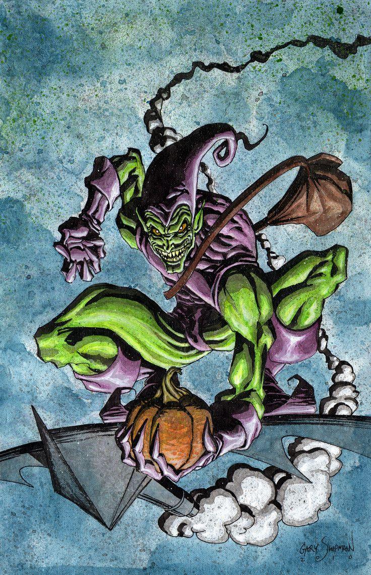 House of m green goblin - Green Goblin By Gary Shipman