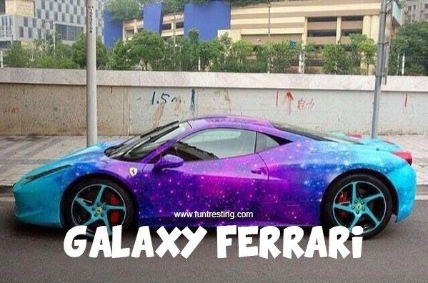 Galaxy Ferrari - Funtresting