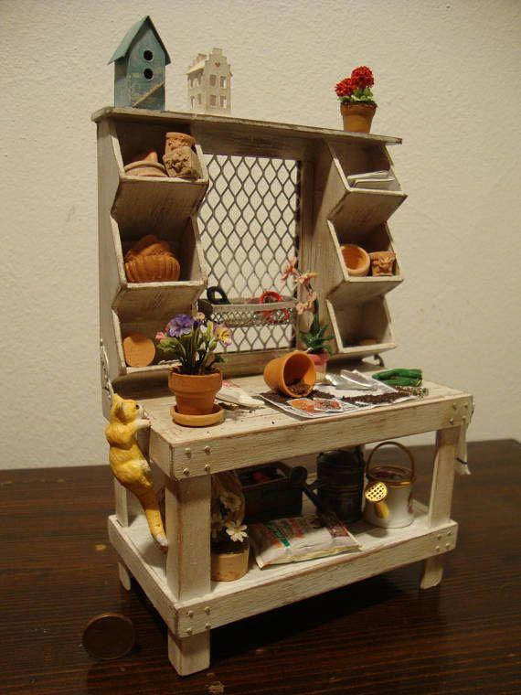 Dollhouse Miniature Multipurpose Table 1 12 Th Scale Lajki Na