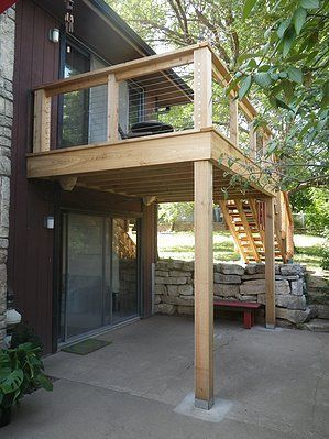 Best Second Floor Deck Design Google Search Building A Deck Deck Design 400 x 300