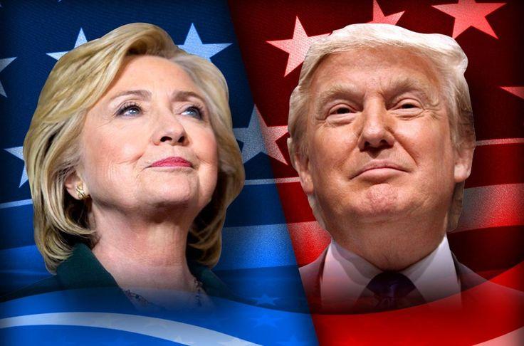!Empatados! Trump y Clinton de igual a igual según encuesta