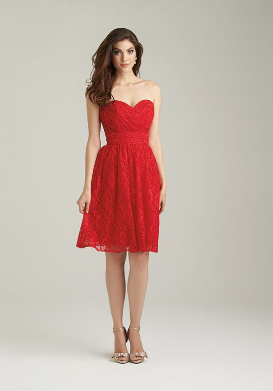 Allure Bridesmaids 1458 Sweetheart Bridesmaid Dress