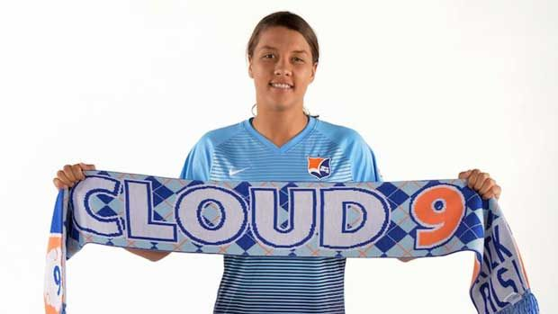 Sam Kerr named player of the month for the second time this #NWSL season. Well done Sam Kerr.