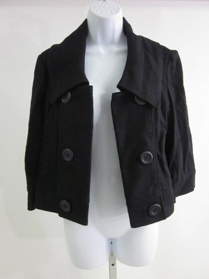 amazing black jacket from South Africa brand Woolworths - size 10 is a size 6 here