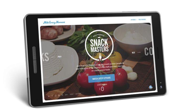 FWA mobile winner | Snack Masters