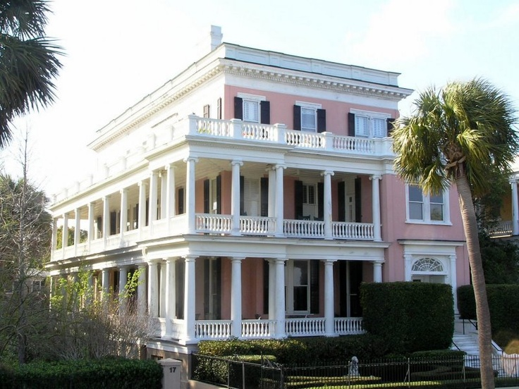 pink house in Charleston, SC